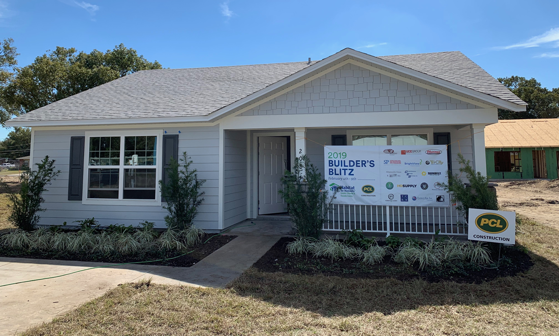 2019 Habitat for Humanity Builder's Blitz Finished Home